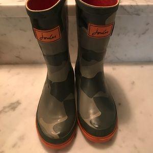 Joules Shark Camo Wellies Rain boots size 13